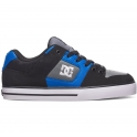 DC Shoes Baskets  Pure - Noir / Gris / Bleu