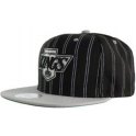 MITCHELL And NESS - Casquette Snapback Los Angeles Kings - DoublePin - Black