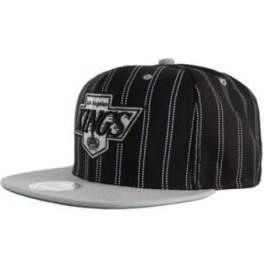 MITCHELL And NESS Casquette Snapback Los Angeles Kings - DoublePin - Black