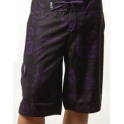 LRG Bermudas - Board Short 2 - Black / Purple