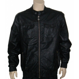 LRG Blouson simili-cuir  - Shadowplay Revisit Jacket - Black