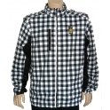 K1X - Veste Check Mate Jacket - White / Black