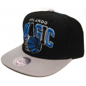 MITCHELL And NESS - Casquette Snapback - Orlando MAGIC - NBA - Arch Logo Tri pop