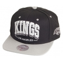 MITCHELL And NESS - Casquette Snapback Los Angeles KINGS - Triple Arch