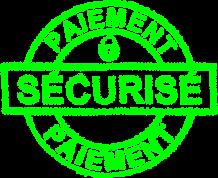 Paiement securisé ( CB, Paypal, virements)