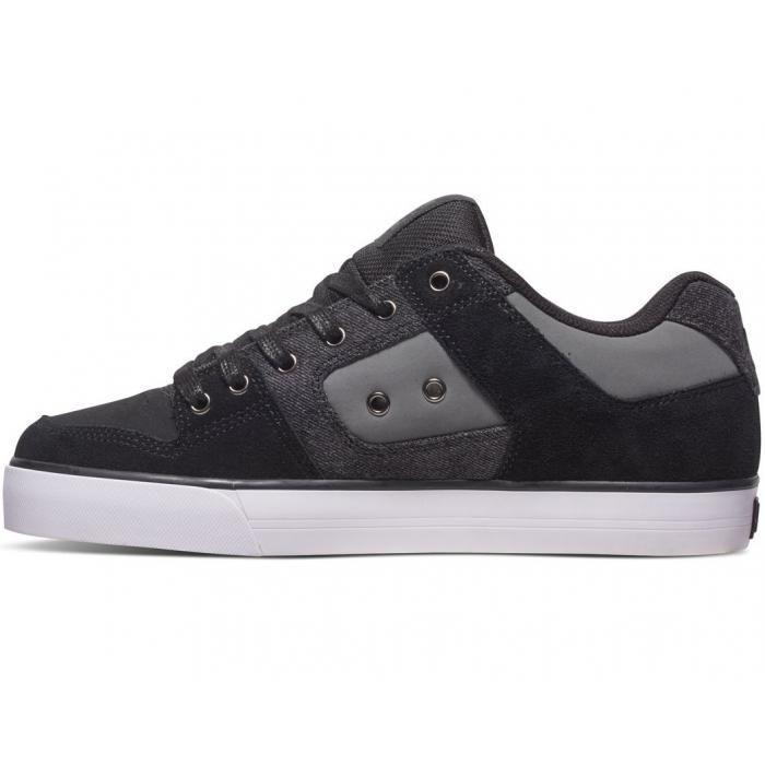 DC Shoes BasketsPure SE - Noir / Gris Uytnm5