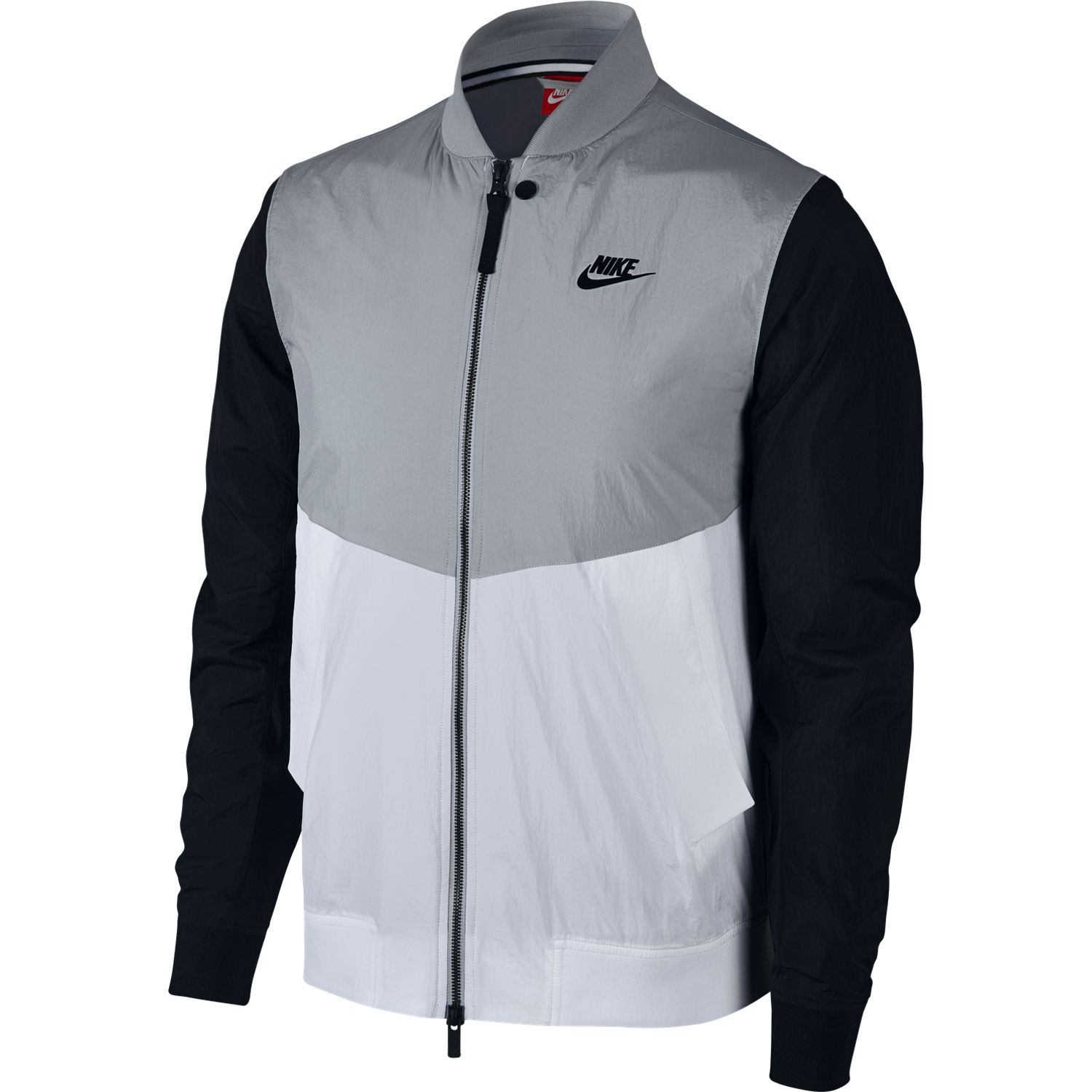 nike nike veste sportswear varsity jacket 886253 99 00 sur. Black Bedroom Furniture Sets. Home Design Ideas
