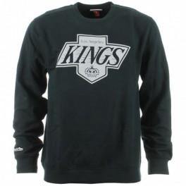 MITCHELL And NESS - Sweat-shirt Los Angeles KINGS - Team Logo Crewneck - Black