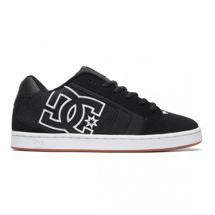 DC Shoes Net Black Noir Blanc Baskets