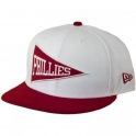New Era - Casquette 9Fifty Philadelphia Phillies - Team Ivy - white / Cardinal