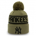 New Era - Bonnet New York Yankees - Team Jack Bobble Cuff Knit
