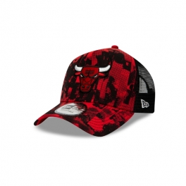 New Era - Casquette Trucker NBA Error Print - Chicago Bulls