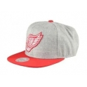 Mitchell And Ness Casquette Snapback Detroit Red Wings - NHL - Team Pop