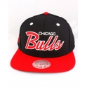 Mitchell And Ness - Casquette Snapback Chicago BULLS - Script