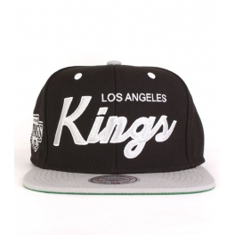 Mitchell And Ness - Casquette Snapback Los Angeles Kings - Script