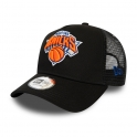 New Era - Casquette Trucker Dark Base - New York Knicks