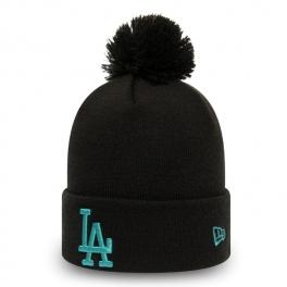 New Era - Bonnet Los Angeles Dodgers - League Essential Bobble Cuff Knit