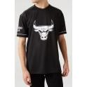 New Era - Maillot Oversized Team Logo - Chicago Bulls