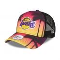 New Era - Casquette Trucker Summer City - Los Angeles Lakers