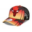 New Era - Casquette Trucker Summer City - Chicago Bulls