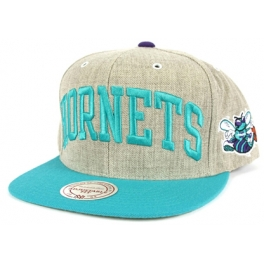 Mitchell And Ness - Casquette Snapback Charlotte Hornets - Basic Arch Road