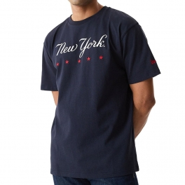 New Era - T-shirt MLB Heritage Oversized - New York Yankees