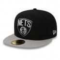 New Era - Casquette 59Fifty - NBA Basic - Brooklyn Nets