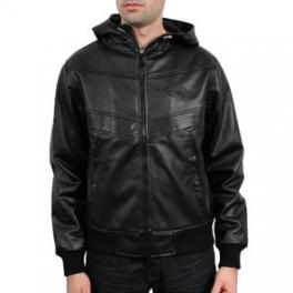 Wrung Division - Blouson a capuche Jacket arrow - Noir