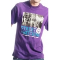 "Wrung Division - T-Shirt Wrung ""Street is watching"" - Purple"