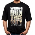"Wrung Division - T-Shirt ""Wrung run this city"" - Noir"