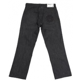 Wrung Division - Jeans Custom fit - All Black - Raw Black