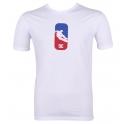 DC Soes- T-shirt Roll Up Mens - Blanc - 4228885