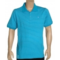 LRG Polo  - Core Striped - Turquoise
