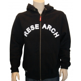 LRG Hoody zippé - Essence - Black