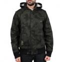 LRG Blouson - Bushman zip hoody - Black / Kaki