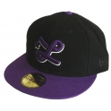 NEW ERA Casquette 59 Fifty LRG - Roots 3 - Black / Purple