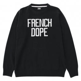 SPACE MONKEYS - Pullover French Dope - Noir