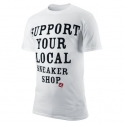 Air Jordan - T-shirt Support your local sneaker shop - White - 414157-100